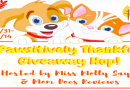 Pawsitively Thankful Giveaway Hop