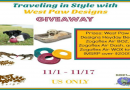 Traveling in Style West Paw Designs Giveaway